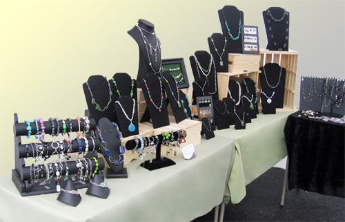 How To Display Necklaces At A Craft Show